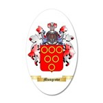Musgrove 35x21 Oval Wall Decal