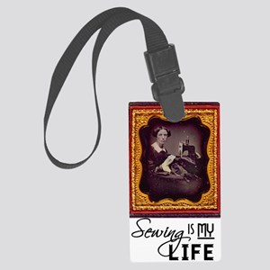 Sewing Is My Life Luggage Tag