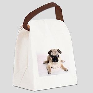 Pug Canvas Lunch Bag