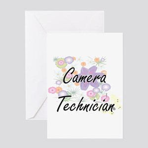 Camera Technician Artistic Job Desi Greeting Cards