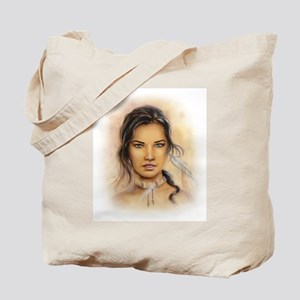Native American Woman Tote Bag