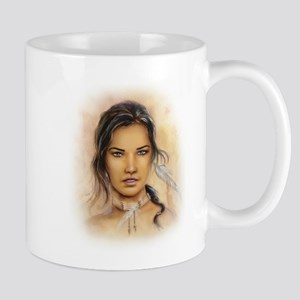 Native American Woman Mug
