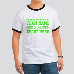 Personalized Your Team Your Text T-Shirt