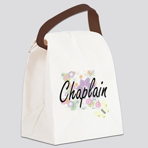Chaplain Artistic Job Design with Canvas Lunch Bag
