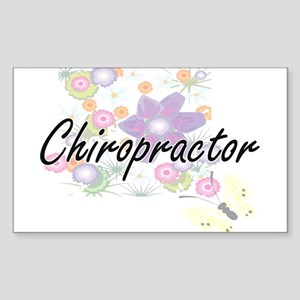 Chiropractor Artistic Job Design with Flow Sticker