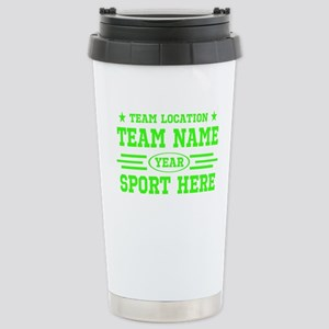Personalized Your Team Your Text Travel Mug