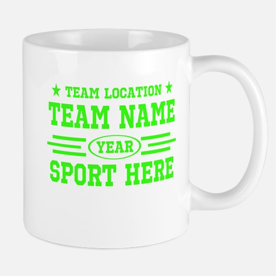 Personalized Your Team Your Text Mugs