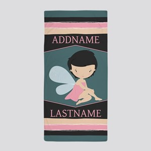 Personalized Gift For Kids Cute Fairy Beach Towel