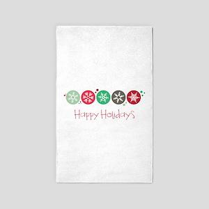 Happy Holidays Area Rug