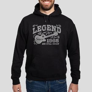Legend Since 1968 Hoodie (dark)