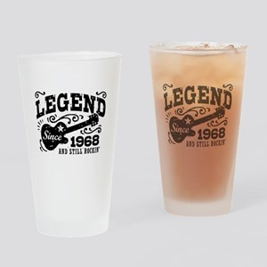 Legend Since 1968 Drinking Glass