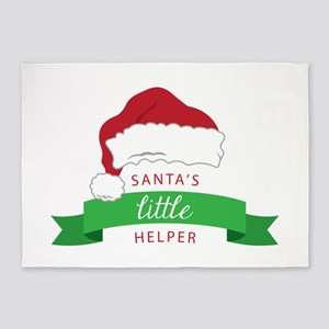 Santas Little Helper 5'x7'Area Rug