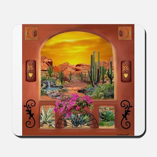 Sonoran Desert Landscape Mousepad