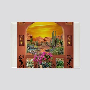 Sonoran Desert Landscape Magnets