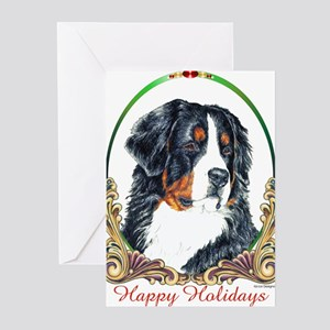 Bernese Mountain Dog Holiday Greeting Cards (6) Gr