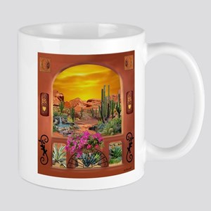 Sonoran Desert Landscape Mugs