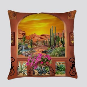 Sonoran Desert Landscape Everyday Pillow