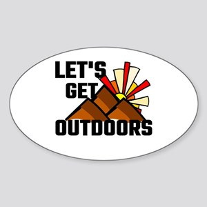 Let's Get Outdoors Sticker