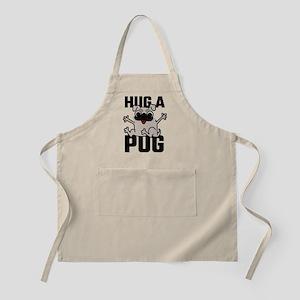 Hug A Pug Apron