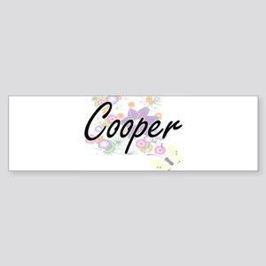 Cooper Artistic Job Design with Flo Bumper Sticker