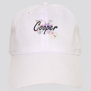 Cooper Artistic Job Design with Flowers Cap