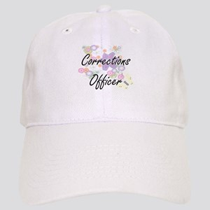 Corrections Officer Artistic Job Design with F Cap