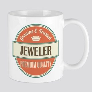 jeweler vintage logo Mug