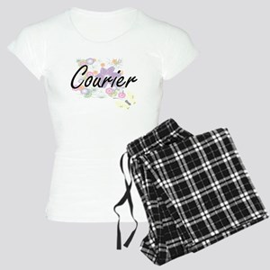 Courier Artistic Job Design Women's Light Pajamas