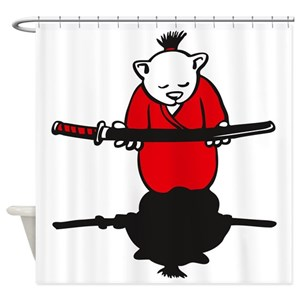 Bushido Shower Curtains