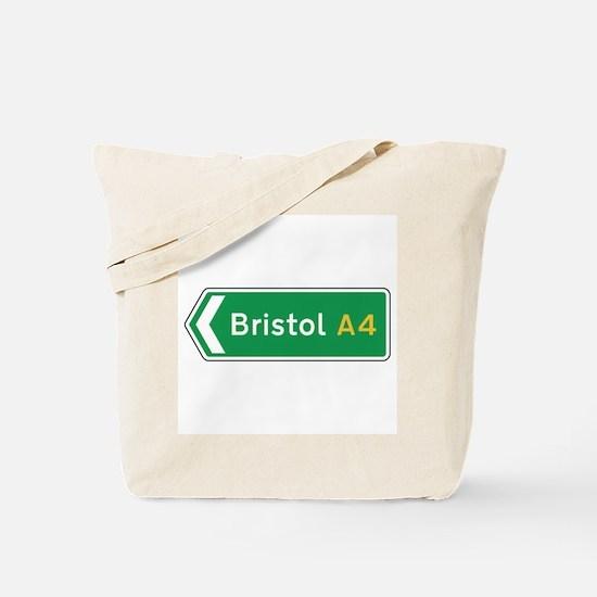 Bristol Roadmarker, UK Tote Bag