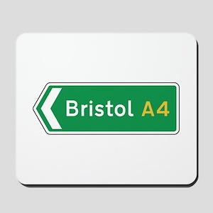 Bristol Roadmarker, UK Mousepad