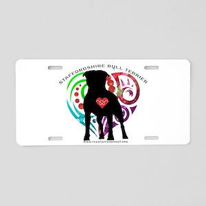 Sbt Hearts Aluminum License Plate