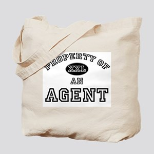 Property of an Agent Tote Bag