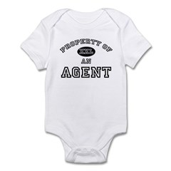 Property of an Agent Infant Bodysuit