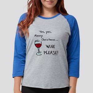 Christmas wine Long Sleeve T-Shirt