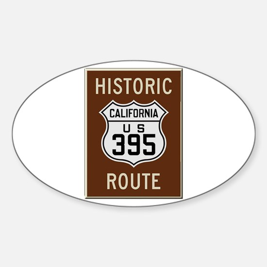 Historic Route 395 Decal
