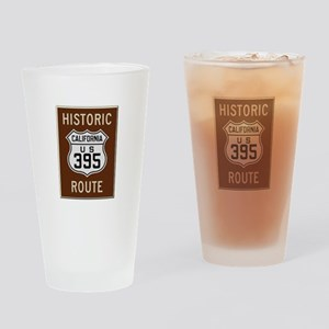 Historic Route 395 Drinking Glass