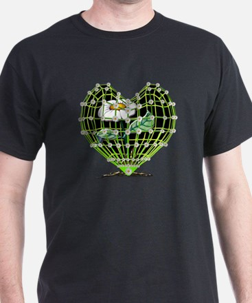 Cool Heavy metal valentine T-Shirt