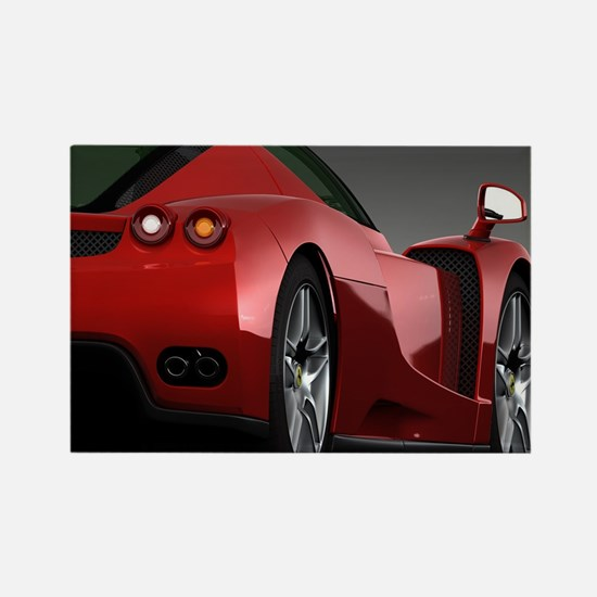 Funny Sports cars Rectangle Magnet