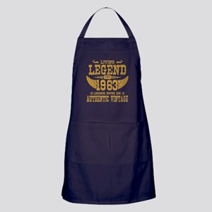 living legend since 1963 legends never die Apron (