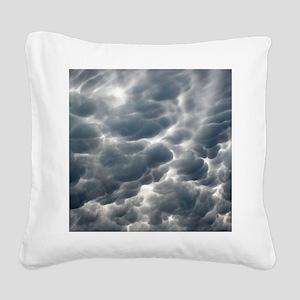 STORM CLOUDS 2 Square Canvas Pillow