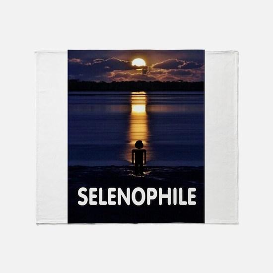 SELENOPHILE Throw Blanket