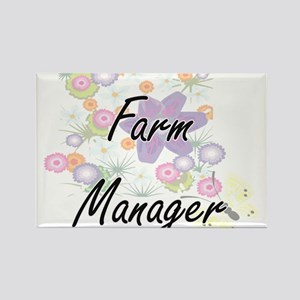 Farm Manager Artistic Job Design with Flow Magnets