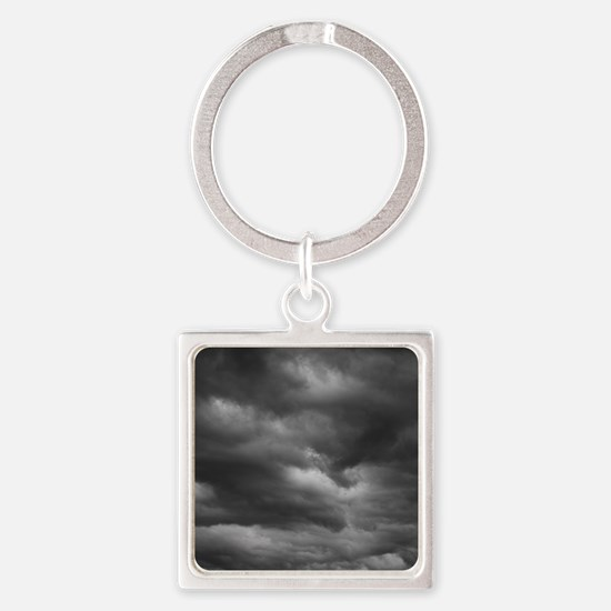 STORM CLOUDS 1 Square Keychain