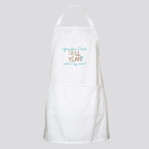 hell yeah personalized Apron