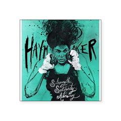 Haymaker By Crabapple Blue Sticker