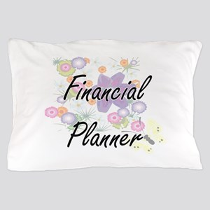 Financial Planner Artistic Job Design Pillow Case