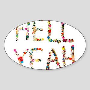 hellyeah Sticker