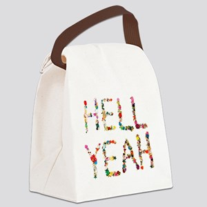 hell yeah Canvas Lunch Bag