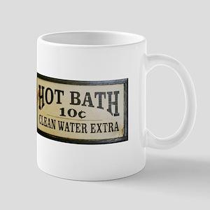 Hot Bath 10 Cents Mugs